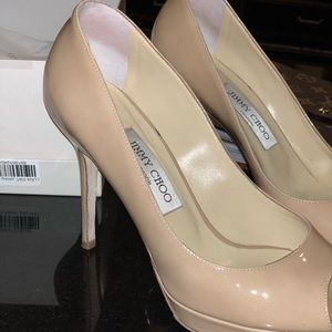 AUTHENTIC Jimmy Choo Nude Heels